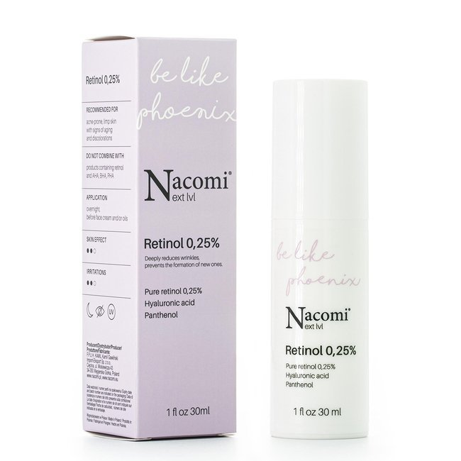 nacomi retinol 025