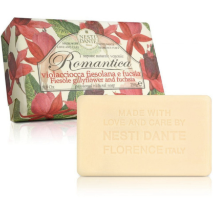 Nesti Dante Romantica fukszia-szegfű szappan