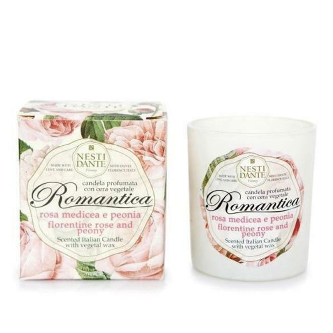 Nesti Dante Romantica rózsa mécses