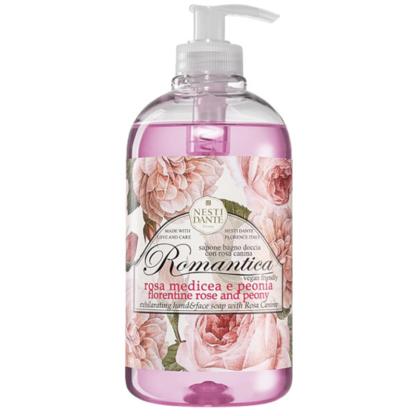 Nesti Dante romantica rózsa és peónia folyékony szappan
