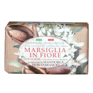 Sapeoneria Nesti Marsiglia in Fiore Almond and orange szappan 125 gr