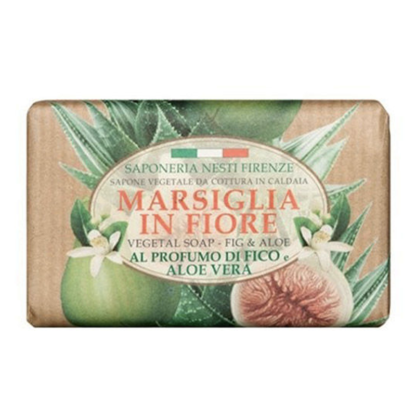 Saponeria Nesti Marsiglia in Fiore füge-aloe szappan 125 gr