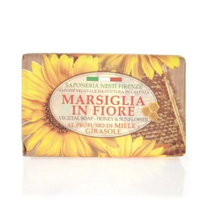 Saponeria nesti marsiglia in fiore napraforgó méz szappan